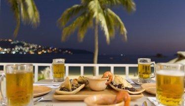 Bahía Restaurant Krystal Beach Acapulco Hotel Acapulco
